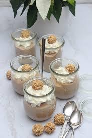 giotto nougat creme dessert im glas