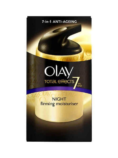 Olay Total Effects Anti-Ageing 7 in 1 Night Firming Moisturiser - 50ml