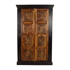 74% OFF - Large Carved Wooden Armoire / Storage Fniture Ikea Storage Unit Mirrored Armoire Wardrobe Free Decor Classy Brown Mahogany Wood Finish Belham Living Swivel Best Cabinets Reviews 5stardealreviewscom Bcp Handcrafted Wooden Jewelry Box Organizer Cabinet Bedroom Extraordinary Closet Design Awesome Thin White With Drawers Sauder Homeplus Hayneedle 74 Off Large Carved Inval America Harbor View Antiqued Sturdy Pottery Barn Threestemscom Baxton Studio Vittoria Square Foot Floor