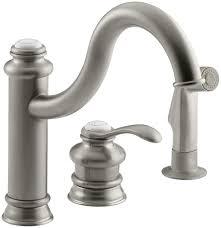 Kohler Fairfax Bathroom Faucet Leak by Kohler K 12185 Cp Fairfax Single Control Remote Valve Kitchen Sink