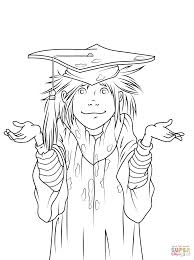 Download Coloring Pages Graduation Junie B Jones Is A Girl Page