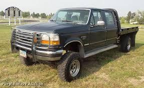 100 95 Ford Truck 19 F350 Super Duty Crew Cab Flatbed Pickup Truck It