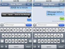 How To Quickly Send Out A Text Message Instead An iMessage