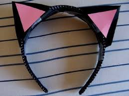 how to make cat ears 3d paper cat ears how to make an ear horn sewing on cut out