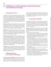 Kã Che 20000 27 Fehlbildungen Und Erkrankungen Im Bereich Der Nieren