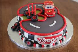 Birthday Cakes Adorable Car Birthday Cake for Boys Party