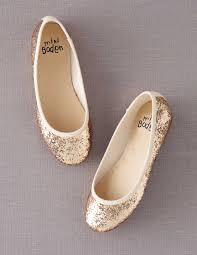 flower shoes glitter ballet flats 39105 shoes at boden