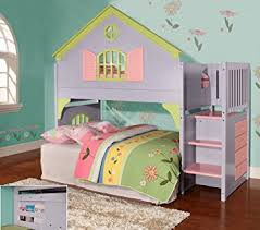 Amazon Twin Doll House Stair Step Loft Kitchen & Dining