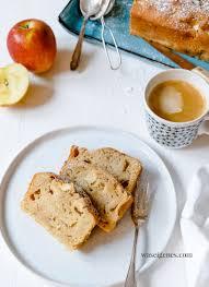 schneller apfelkuchen mit marzipan und zimt kastenkuchen