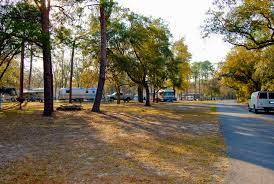 RV Camping Area In Salt Springs Recreation