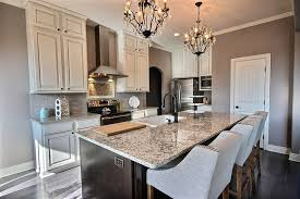 Corner Luxury Kitchen With Blanco Tulum Granite Counters