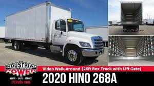 100 24 Foot Box Trucks For Sale 2020 HINO 268A 26ft Truck With ICC Bumper Commercial Truck Review