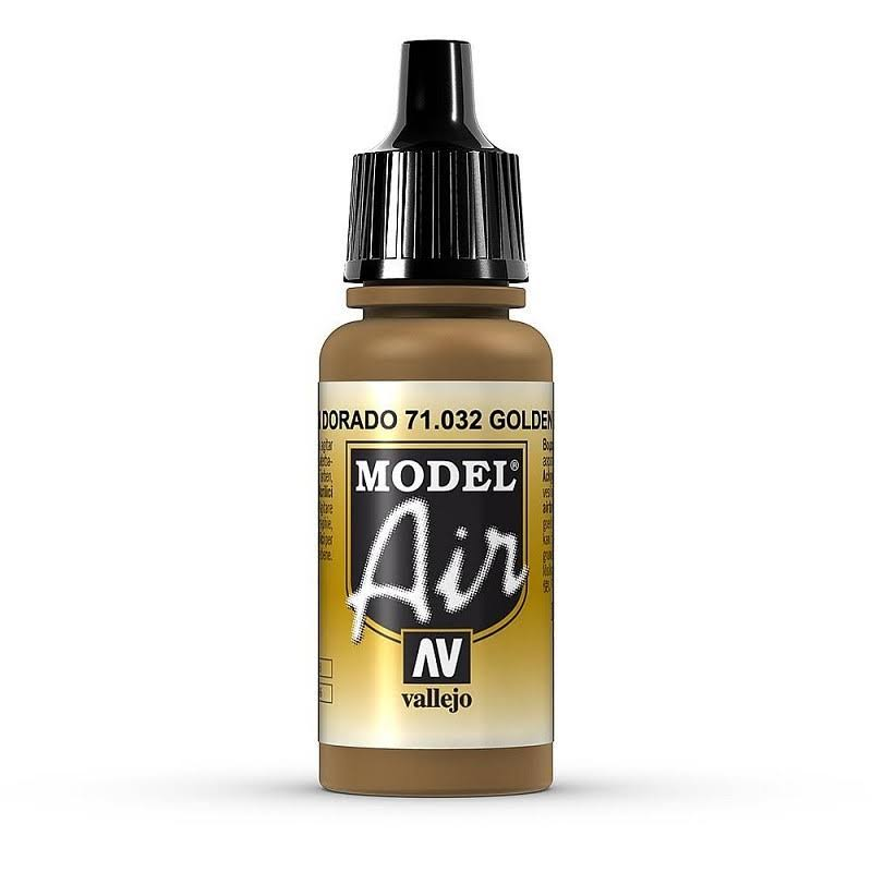 Vallejo Model Air 17ml - Golden Brown 71032