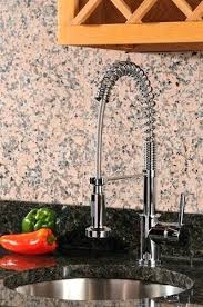 Commercial Style Pre Rinse Kitchen Faucet by Pre Rinse Kitchen Faucet Rinse Pullout Spray Kitchen Faucet With