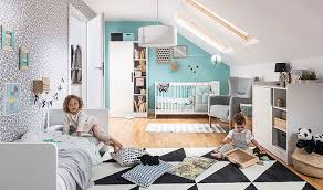 ensemble chambre bébé lit bébé à barreaux évolutif avec table à langer design maxim