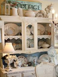Shabby Chic Dining Room Hutch by How To Design Your Home In Shabby Chic Style Home Interior