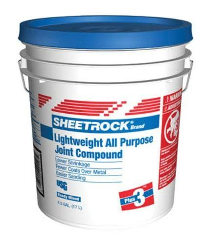 Sheetrock 381466 Lighweight All Purpose Joint Compound, 4.5 Gallon
