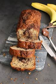 bananenbrot mit nutella bake to the roots