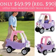 100 Little Tikes Princess Cozy Truck Only 4999 Reg 90 RideOn