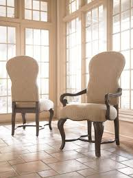 Chair Sloping Arm Dining High Back Upholstered Room Chairs