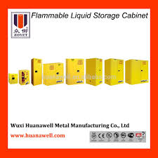 Flammable Safety Cabinet 45 Gal Yellow by Chemicals Safety Cabinet Fire Protection Cabinet Justrite Type