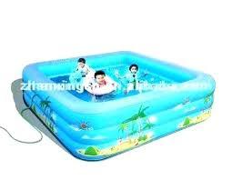 Kiddie Swimming Pool Large Hard Plastic 6 Ft