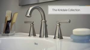 American Standard Faucets Bathroom by The Kirkdale Collection From American Standard Youtube