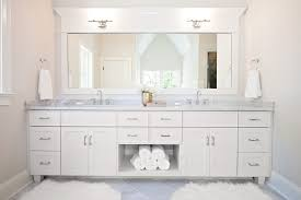 Modern Bathroom Rugs And Towels by White Marble Bathroom Contemporary With Modern Vanity Lights