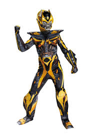 Sora Halloween Town Figure by Transformers 4 Boys Bumblebee Prestige Costume