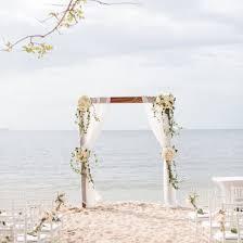 Destination Wedding Ceremony Aisle
