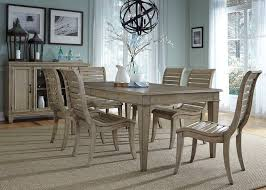 Grayton Grove Dining Room Set With Slat Back Chairs