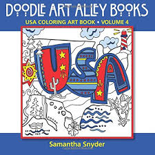 Doodle Art Alley Coloring Books