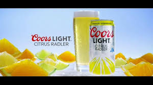 Coors Light Citrus Radler TV mercial New Peaks of Refreshment iSpot