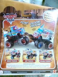 Disney Pixar Cars Monster Mater Truck I-screamer Power Punch Action ...