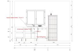 hauteur de meuble de cuisine hauteur meuble cuisine inspirations et taille ilot cuisine top