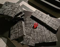3d Dungeon Tiles Uk by Painted 3x3 Inch Stone Dungeon Tiles For D U0026d Pathfinder Rpg
