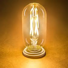 t14 led filament bulb 40 watt equivalent vintage light bulb