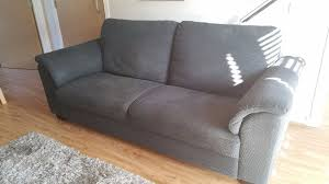 ikea tidafors 3 seat sofa in hensta grey in east renfrewshire