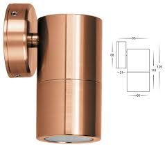 copper outdoor lighting sconces lilianduval