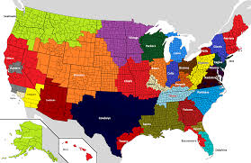 nfl fandom map created by me updated nfl