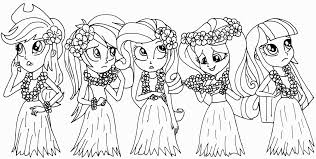 My Little Pony Coloring Pages Rainbow Dash Equestria Girls In