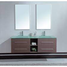 Gray And Teal Bathroom by Calypso 60 Inch Modern Double Sink Bathroom Vanity Unique Grey Oak