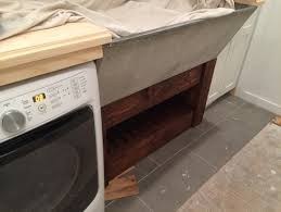 Laundry Room Sink With Built In Washboard by Old Double Laundry Sink Concrete Stone
