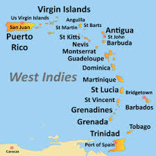 Map Of British Virgin Islands West Indies