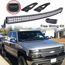 omotor 50inch cree 288w 28800lm led curved work light bar 99 06