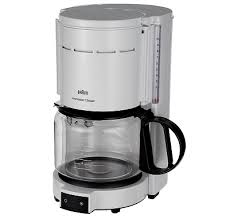 Braun KF47WH White 10 Cup Coffee Maker 220V KF47 6