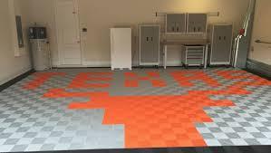 longhorns garage floor tile design swisstrax interlocking