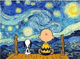 malen nach zahlen für hund und unter dem sternenhimmel