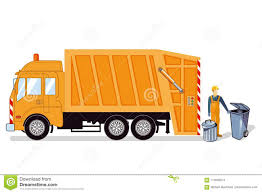100 Waste Management Toy Garbage Truck Truck Illustration Stock Vector Illustration Of Dustcart