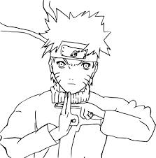 133 Dessins De Coloriage Naruto à Imprimer Sur LaGuerchecom Page 8